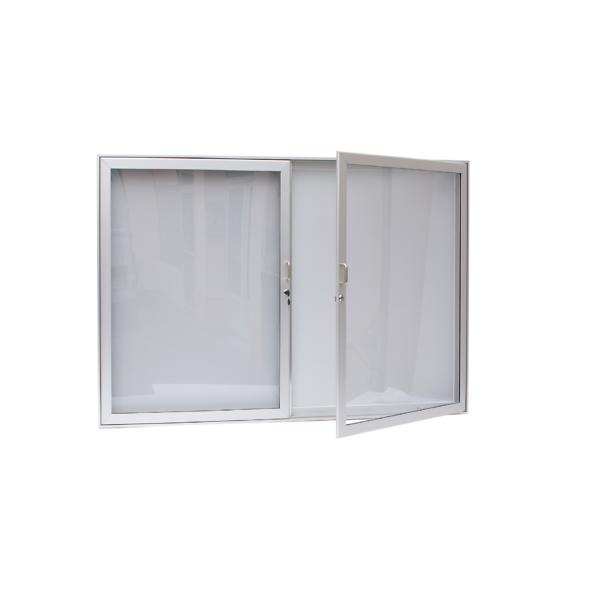 Dvoukřídlé vitríny