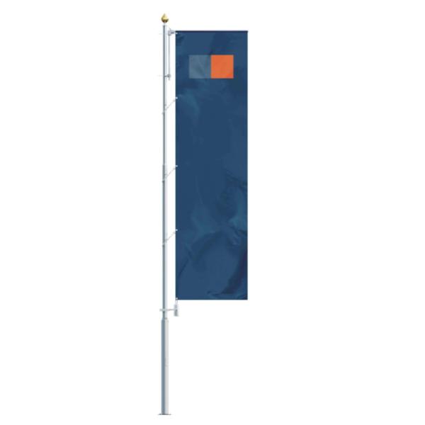 Hliníkové vlajkové stožáry